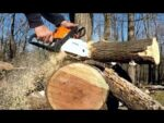 STIHL Chainsaw MS 180  cbe CUTTING!
