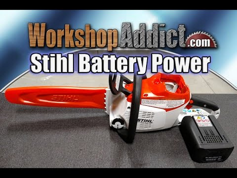 Stihl MSA 200 C Battery Operated Chainsaw Review