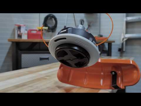 How to Rewind the Spool on the STIHL AutoCut® C 26-2