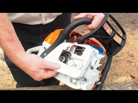 STIHL Chainsaw Clutch System