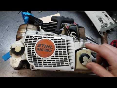The Chainsaw Guy Shop Talk Stihl MS 362 Common Repair #1