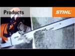 The STIHL MS 661 C-M chainsaw