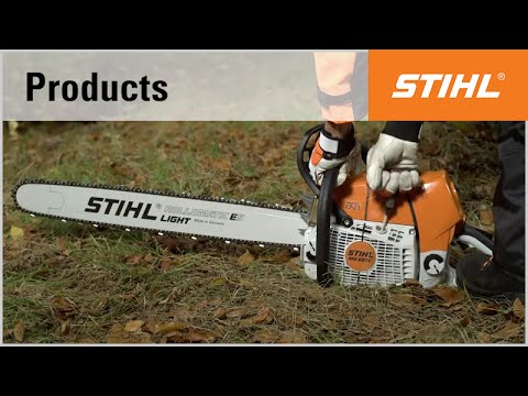 The STIHL MS 661 chainsaw – extended version