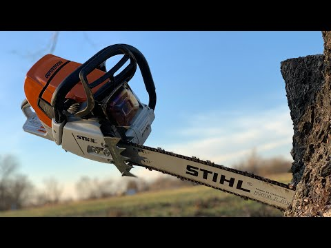 STIHL MS 661 Magnum Chainsaw Review
