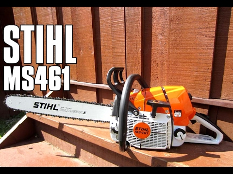 STIHL MS461 Chainsaw Review