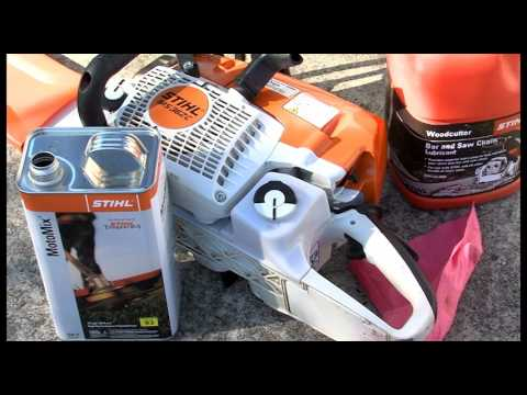 Chapter 7: Fueling Your STIHL Chainsaw