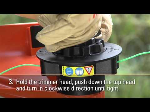 How to Attach the STIHL AutoCut® C 5-2 Cutting Head