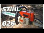 STIHL 026 Chainsaw Review