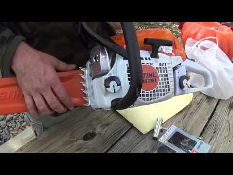 MS 251 C STIHL Chainsaw Unboxing