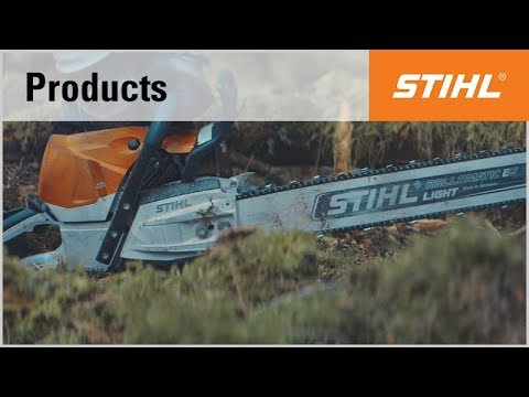 The STIHL MS 462 C-M chainsaw