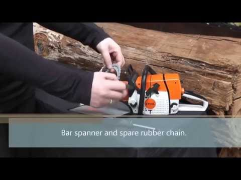 Stihl Battery Operated Toy MS Chainsaw