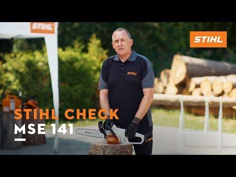 STIHL Check: Motorsäge MSE 141 C