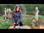Stihl MS 261 C chainsaw maintenance and cleaning