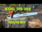 STIHL MS 362 CHAINSAW REVIEW!!