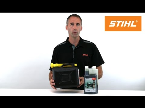 How to mix your own fuel for STIHL chainsaws & equipment