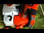 stihl ms250 chainsaw cold start
