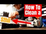 Cleaning a Stihl ms 261c chainsaw