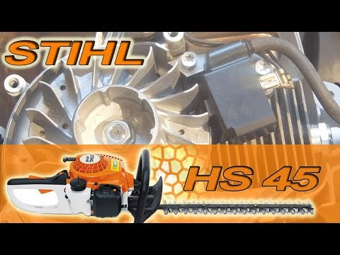 Stihl Ignition Coil Bench Test and Replacement