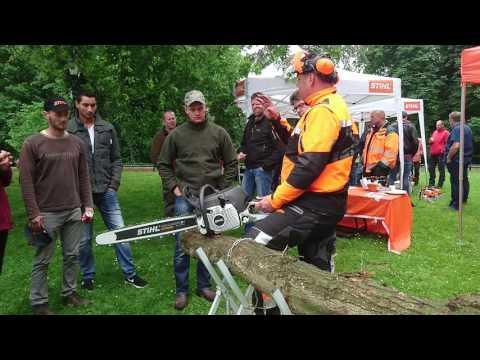 Stihl Carbonfiber Chainsaw