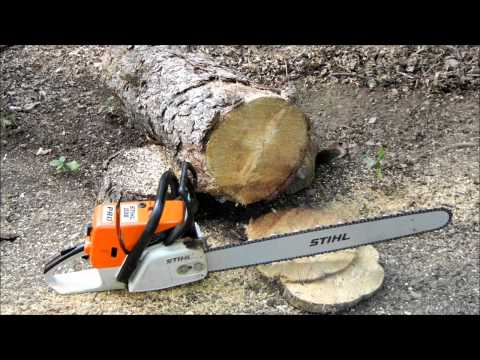 Stihl 036 PRO Chainsaw with 24″ bar/chain; running review