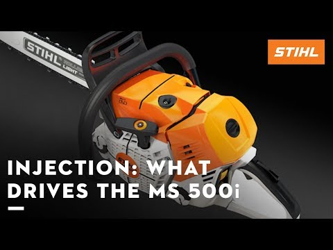 Injection: what drives the STIHL MS 500i