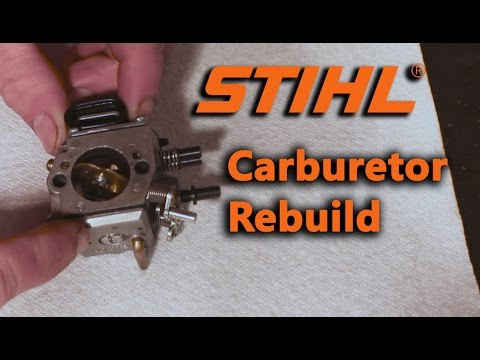 Stihl Chainsaw Carburetor Rebuild, MS 440
