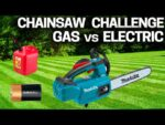 Makita LXT Battery Arborist Chainsaw Vs Stihl MS200 Gas