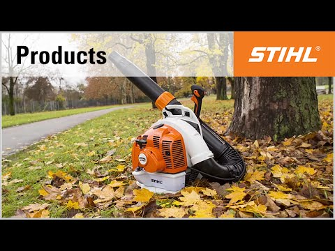 The backpack blower STIHL BR 450 C-EF