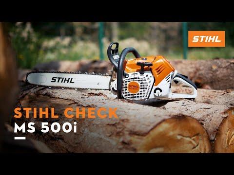 STIHL Check: Motorsäge MS 500i
