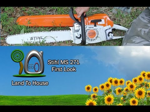 Stihl MS 271 First Look