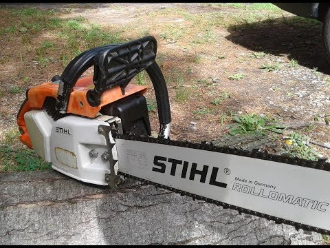 How to Rehab and Refurbish a STIHL 031AV Chainsaw from 1980