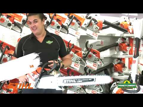 Stihl MS500i chainsaw at Innisfail and Cairns