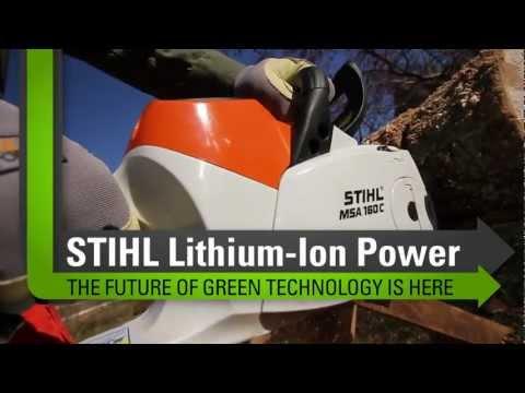 MSA 160 C-BQ STIHL Lithium-Ion Chainsaw