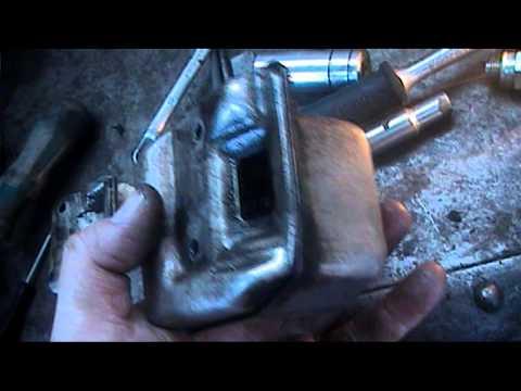 stihl 021 chainsaw repair part 1.mpg