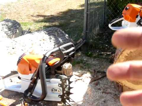 Zipped Stihl 462 vs Bone Stock 461