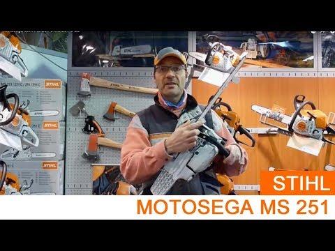 Motosega Stihl MS 251 e MS 251 C-BE