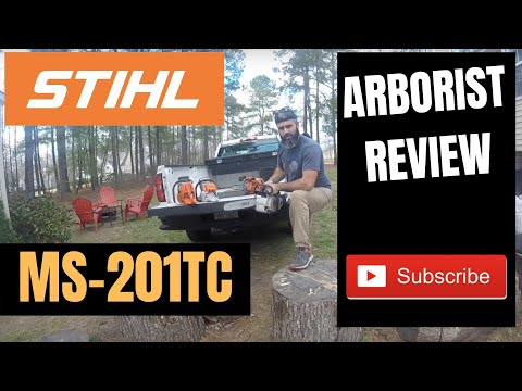 """STIHL MS 201 T C-M Review – the """"ultimate arborist chainsaw»"""