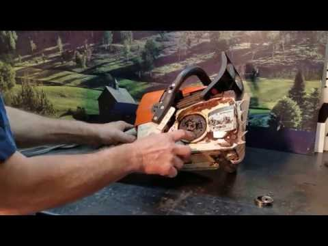 The Chainsaw Guy shop talk Stihl MS 361 clutch repairs