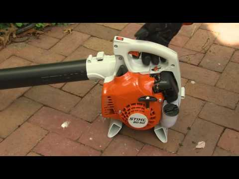 STIHL BG 50 Blower- How to Start
