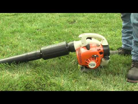 How to Start Your STIHL Blower