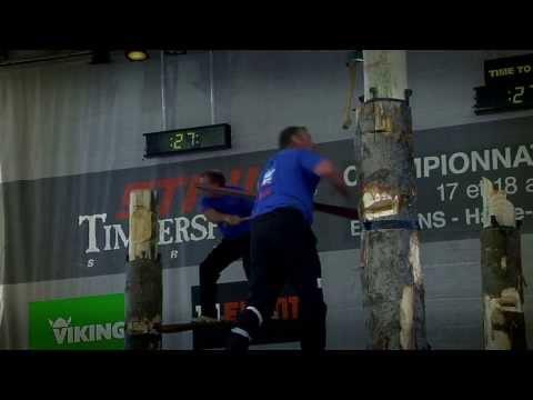 STIHL Timbersports Championnat de France 2013 in Bessans/Savoie (FRA)