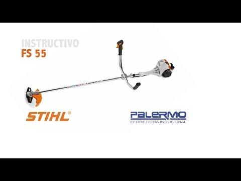 Instructivo / Tutorial de motoguadaña STIHL FS 55 – Ferreteria Palermo