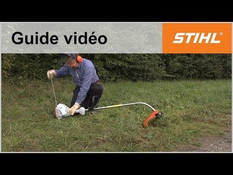 Démarrer un coupe-bordure FS 50 – Coupe-bordures STIHL