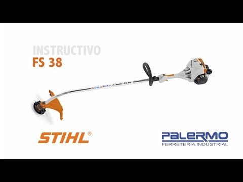 Instructivo / Tutorial de motoguadaña STIHL FS 38 – Ferreteria Palermo