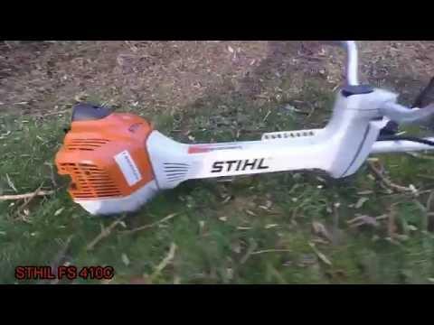 Débroussailleuse STIHL FS 410C vs ronce [GoPro]
