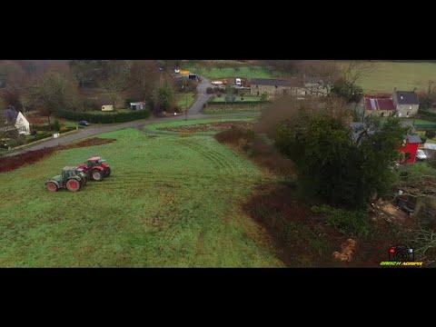 [°INÉDIT°] Abattage d'un gros CHÊNE avec deux Tracteurs ! Stihl |Fendt 716 vario|Case IH Puma 165cvx