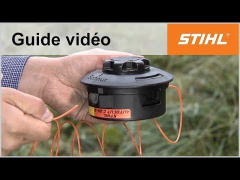Remplacer le fil de coupe – AutoCut C 25-2 – Coupe-bordures STIHL