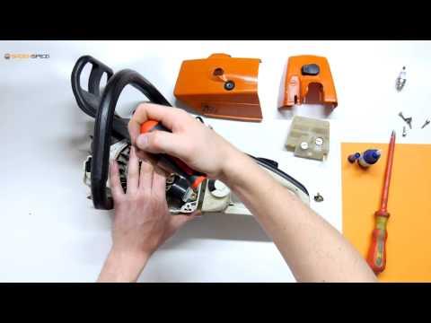 Échanger l'allumage électronique et la bougie sur une tronçonneuse Stihl