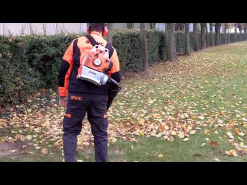 STIHL France : Darko présente le BR 200, souffleur thermique à dos pour finitions de chantiers