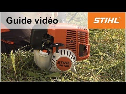 Démarrer une débroussailleuse FS 130 – Coupe-bordures STIHL